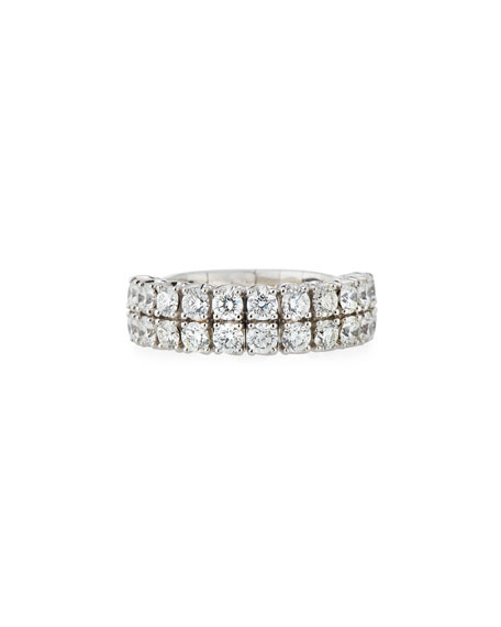 18k Expandable Round Diamond Ring, 2.26tcw