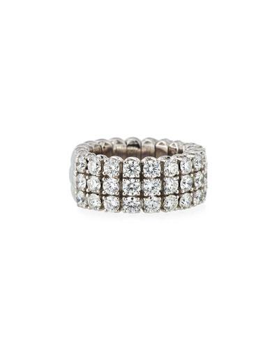 Picchiotti 18k Expandable Round Diamond Ring, 1.15tcw