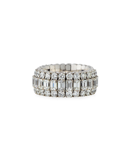 Picchiotti 18k Expandable Mixed-Cut Diamond Ring, 3.36tcw