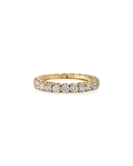 18k Expandable Round Diamond Ring, 2.48tcw