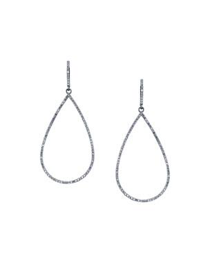 db5047652 Sheryl Lowe Open Pave Diamond Teardrop Earrings