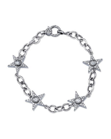 Diamond Star Eternity Bracelet
