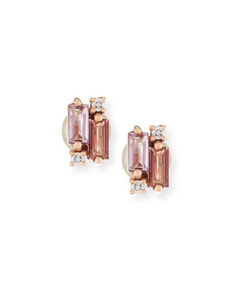 products pink with diamonds drop a furst sapphires france de earrings rose gold dynamite and