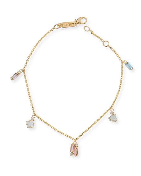 KALAN by Suzanne Kalan 14k Mixed Stone Bracelet