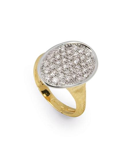 18k Diamond Pave Ring