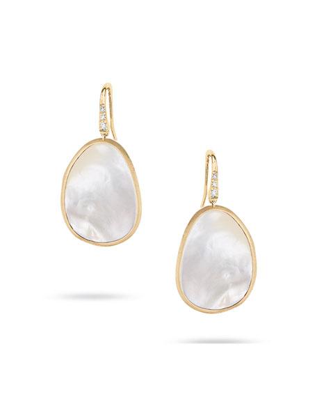 Marco Bicego 18k Mother-of-Pearl Drop Earrings wecLX