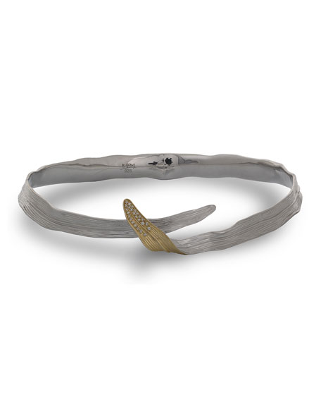 Michael Aram 18k Gold & Sterling Silver Palm