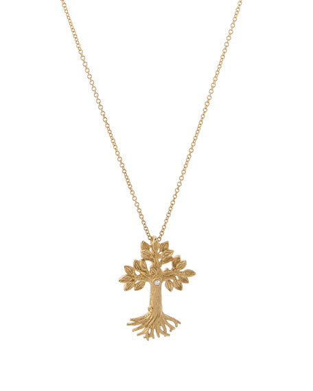 Michael Aram Armenian Tree of Life Cross Pendant