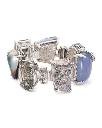 One-of-a-Kind Multi-Gemstone Bracelet