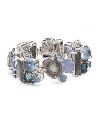 One-of-a-Kind Multi-Gem Bracelet