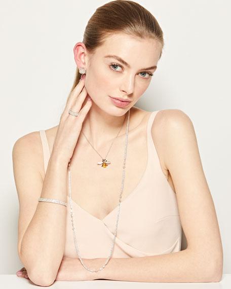 18k Luminal Long Diamond Necklace