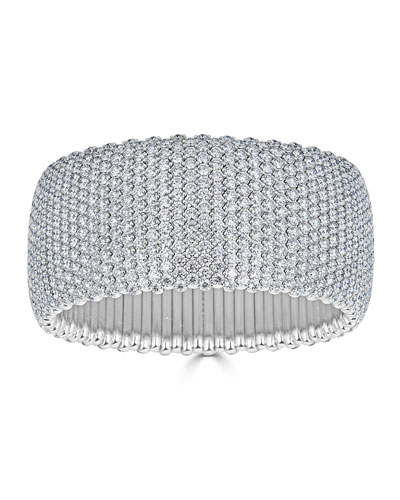 18k Large Stretch Diamond Bracelet