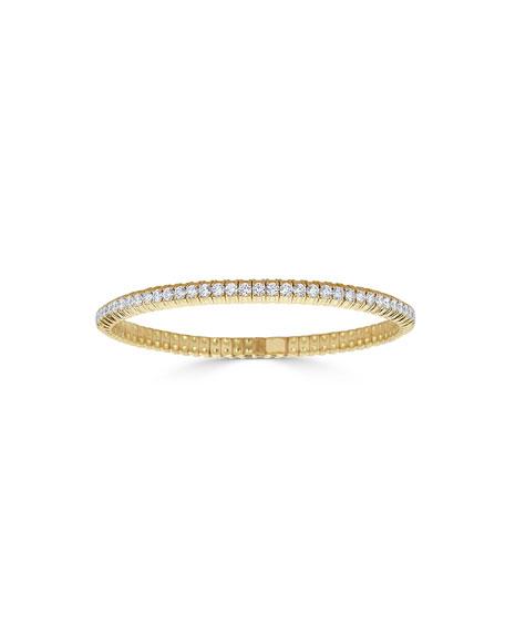 18k Stretch Diamond Bracelet