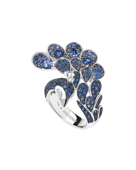 Boucheron 18k Diamond Cypris, The Swan Ring, Size 50
