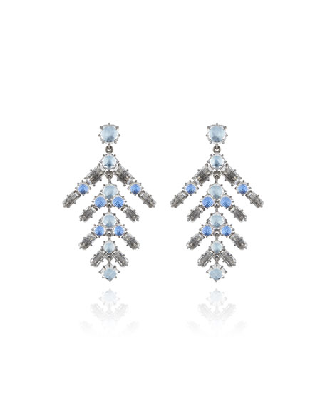 Caterina Branch Earrings, Blue