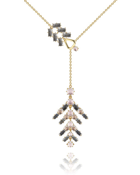 Caterina Branch Lariat Necklace, Fawn