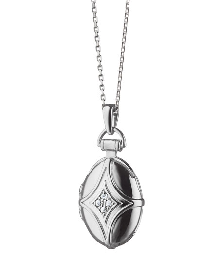 Petite Bridle Locket Necklace