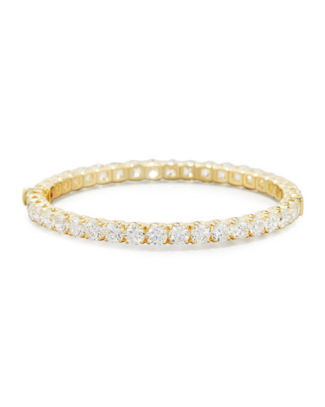 bangles gold round color diamond bracelet eternity ct k tri front bangle jewelers