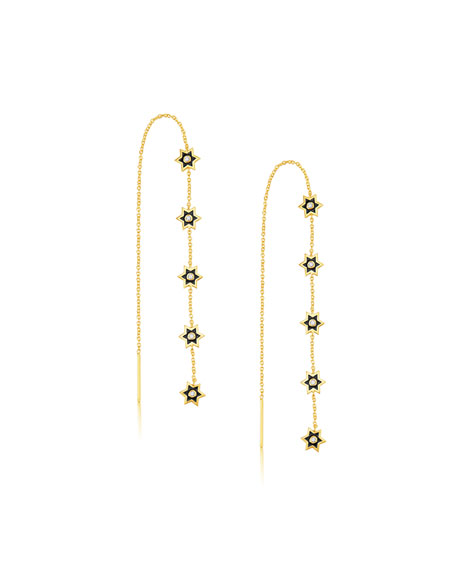 Legend Amrapali 18k Mini Icon Star-Thread Earrings w/