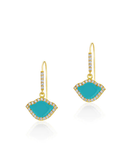Legend Amrapali 18k Gold Nalika Lotus Drop Earrings