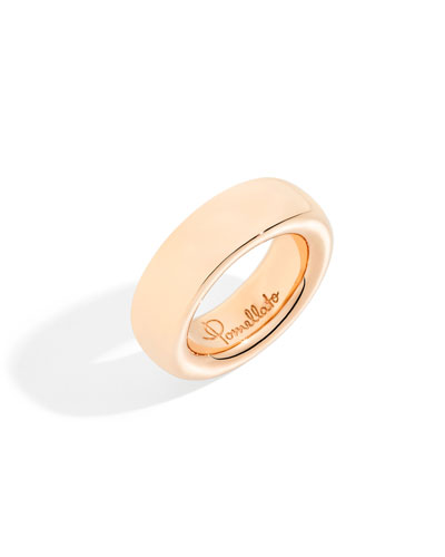 18k Rose Gold ICONICA Ring, Size 51