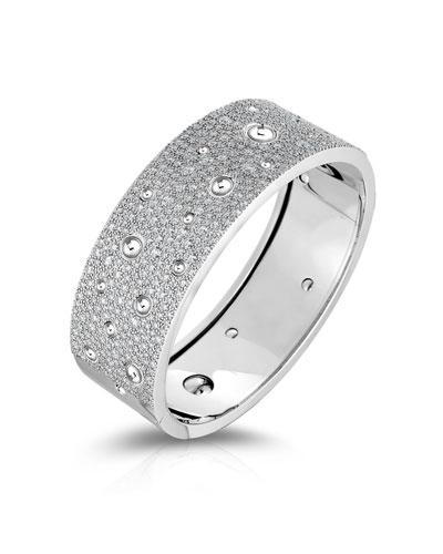 Pois Moi 18k White Gold Diamond Bracelet