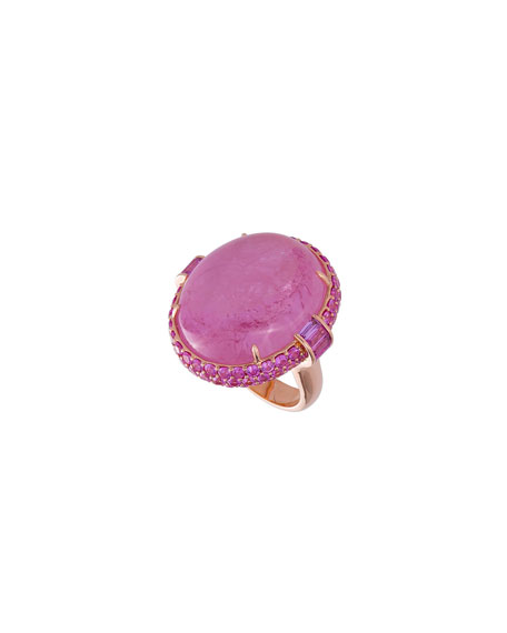 Margot McKinney Jewelry 18k Rose Gold Tourmaline &