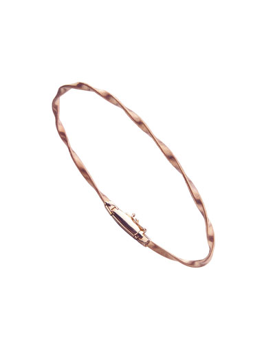 Marrakech Rose Gold Bangle Bracelet
