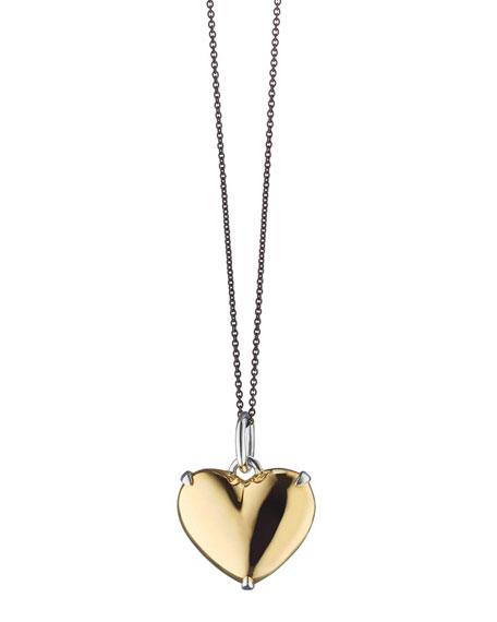 Monica Rich Kosann Two-Tone Heart of Gold Charm