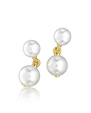 e2eaee0ca8 Verdura South Sea Pearl   Diamond Clip Earrings