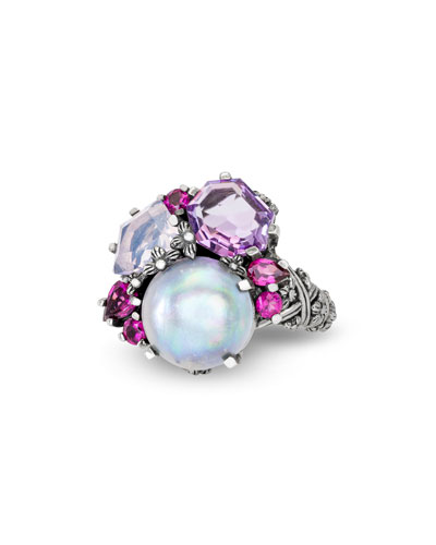 Multi-Stone Small Cluster Ring
