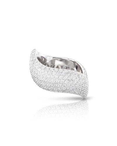 Sensual Touch 18k White Gold 310-Diamond Ring