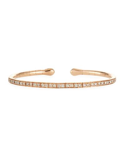 18k Rose Gold & Brown Diamond Bracelet
