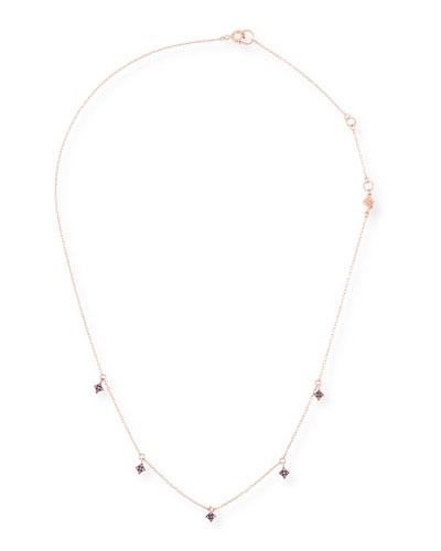 14k Northern Star Diamond Dangle Necklace