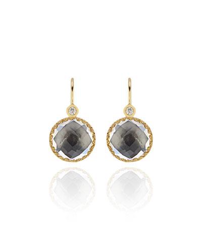 Olivia Diamond & Drop Earrings  Gray