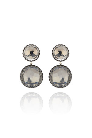 Larkspur & Hawk Olivia Convertible Drop Earrings, Dove