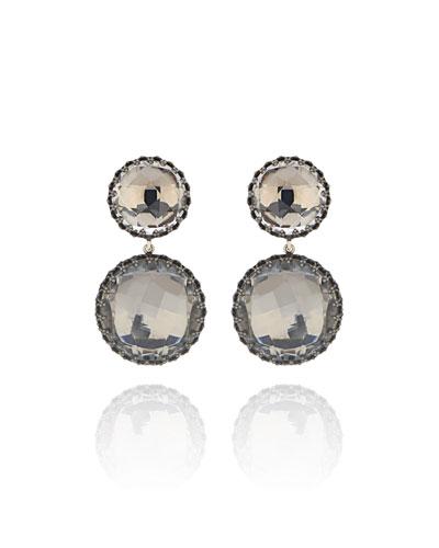 Olivia Convertible Drop Earrings  Dove