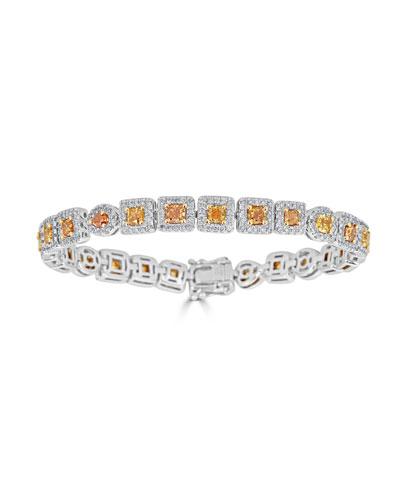 Limoncello 18k Two-Tone Gold & Diamond Bracelet