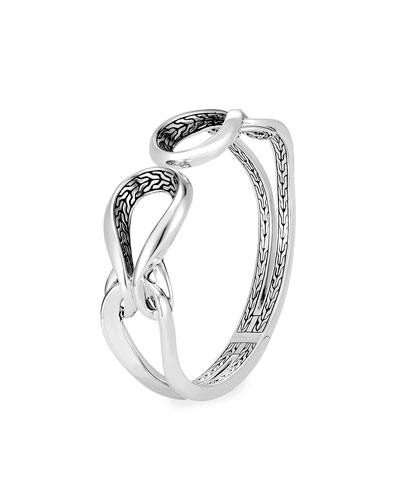 Classic Chain Asli Hinged Link Cuff, Size M