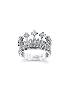 9ef751169449ce Cynthia Bach Empress Tiara 18k White Gold Diamond Ring