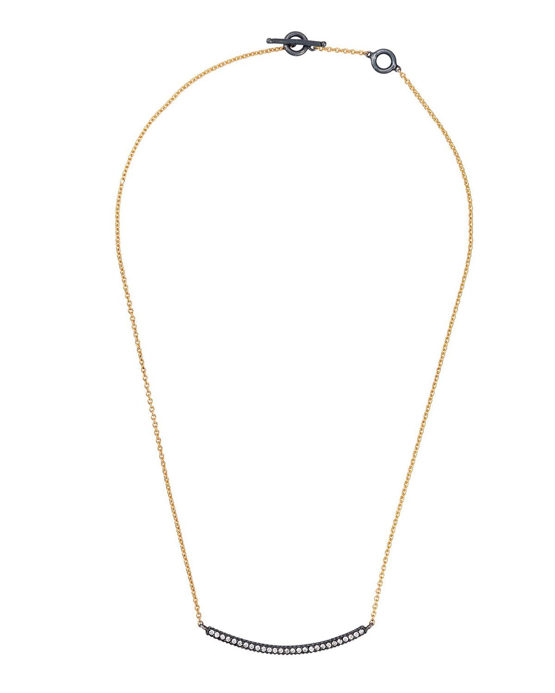 3053dabf6f0b0 Yossi Harari 18k Diamond Lilah Smile Pendant Necklace