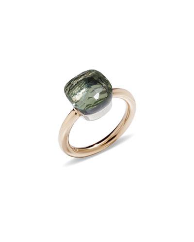 Nudo 18k Rose Gold Prasiolite Ring  Size 51