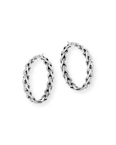 Asli Classic Chain Hoop Earrings