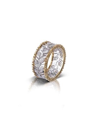 Ramage Eternelle Diamond Leaf Ring