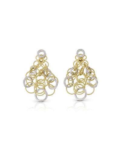 Hawaii 18k Diamond Chandelier Earrings