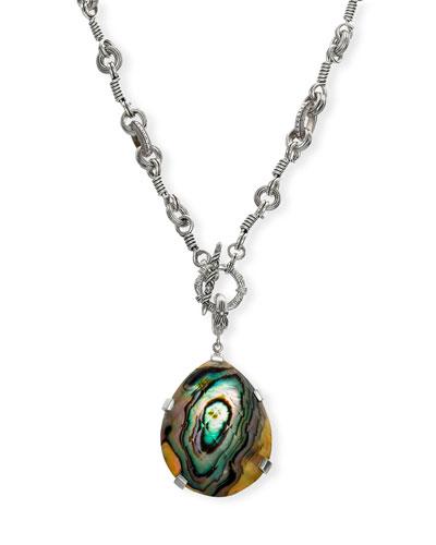 Pear Pendant Necklace
