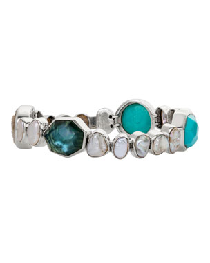 f2819c573f4 Stephen Dweck Multi-Stone Line Bracelet, Keshi Pearl