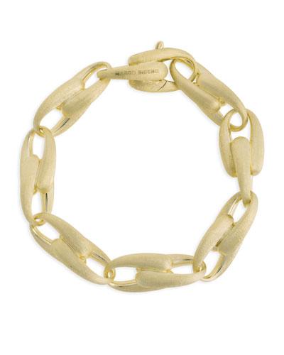 Legami 18k Gold Interlock Chain Bracelet