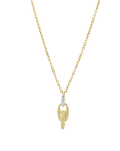 Legami 18k Gold Interlock Pendant Necklace