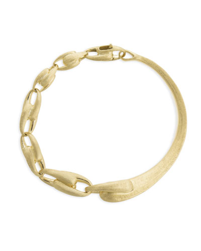 Legami 18k Gold Halfway Chain-Link Bangle